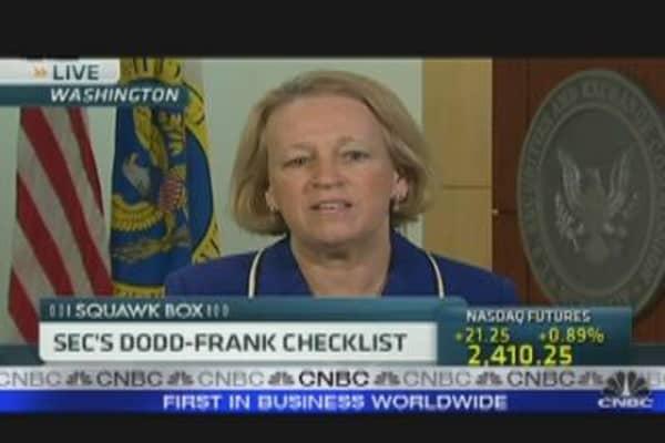 SEC's Dodd-Frank Checklist