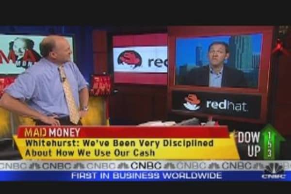 Cramer Bullish on Red Hat