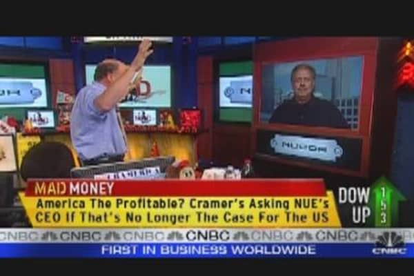 Nucor CEO Talks Earnings