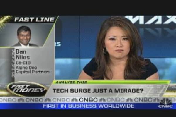 Tech Surge Just a Mirage?