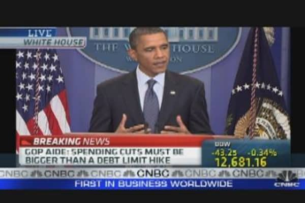 President Obama on Debt Deal