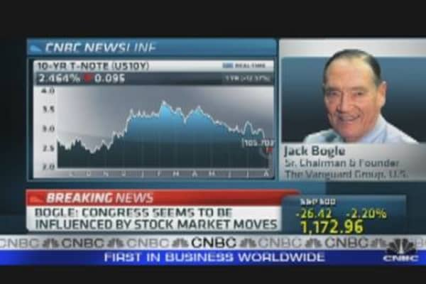 Bogle Comments on the Markets