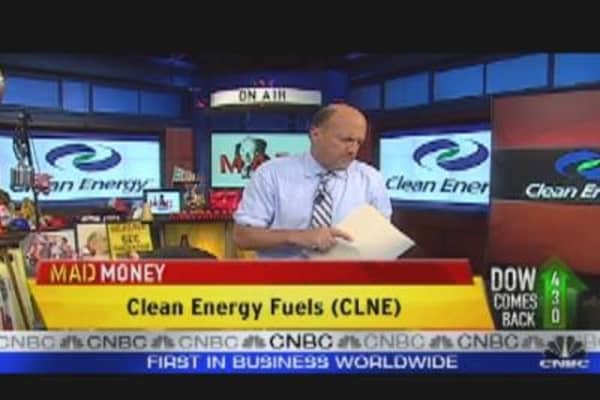 CLNE CEO Speaks to Cramer