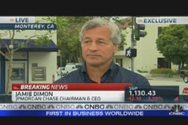 Jamie Dimon on Financials & Europe
