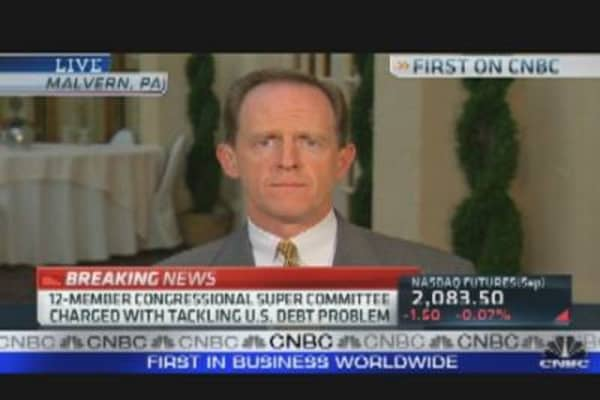 GOP Picks Super Committee Members