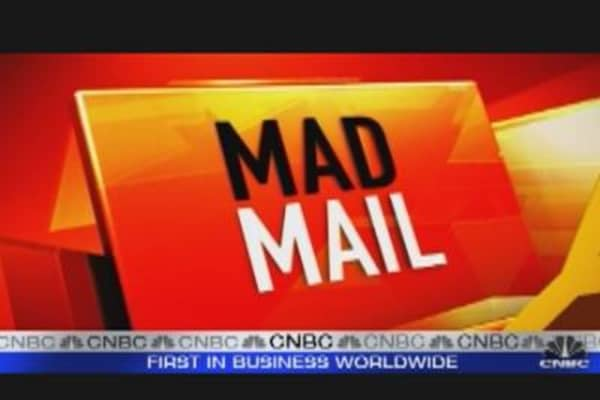 Cramer Answers 'Mad Mail'