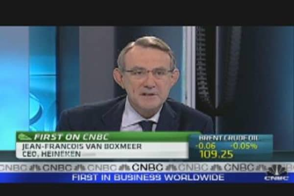 Heineken CEO: Beverage Market Down in West