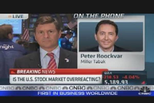 Stocks Sell Off Sharply