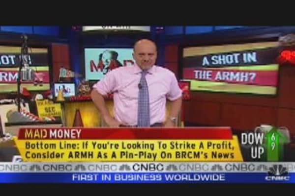 Cramer Looks at ARM Holdings