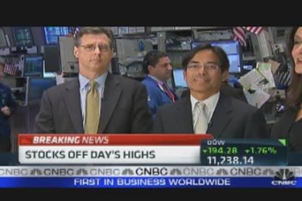 Investors Buying Again