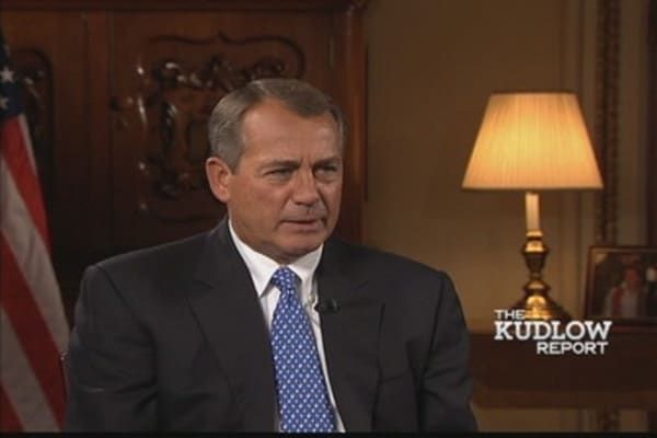 Speaker Boehner: 'The President's Policies Have Failed'