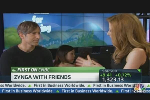 Zynga CEO: Excited for Facebook Ads on Zynga