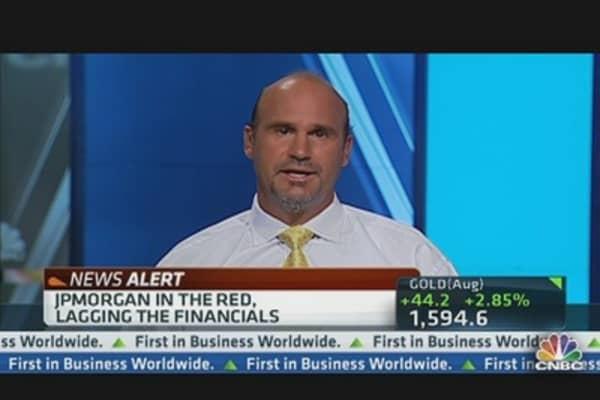 JPMorgan Lags Financials