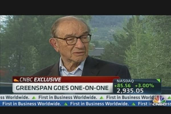 Greenspan on How to Fix the Economy