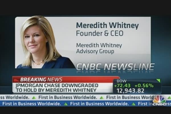 Whitney: JPM Downgrade Long Time Coming
