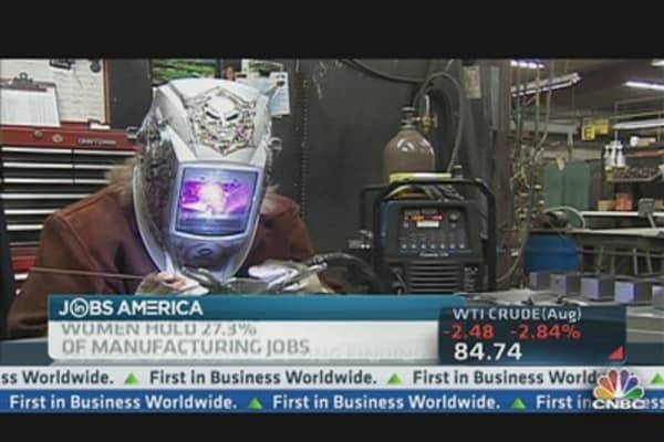 Manufacturing Woos Women
