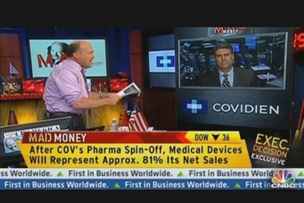Covidien CEO: Acquisitions, Health Care & Pharma