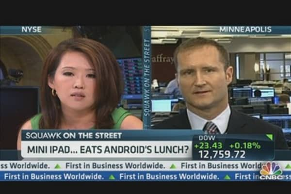 Will Mini iPad Eat Android's Lunch?