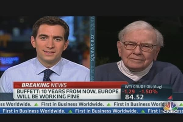 Buffett on Europe's 'Fundamentally Flawed System'