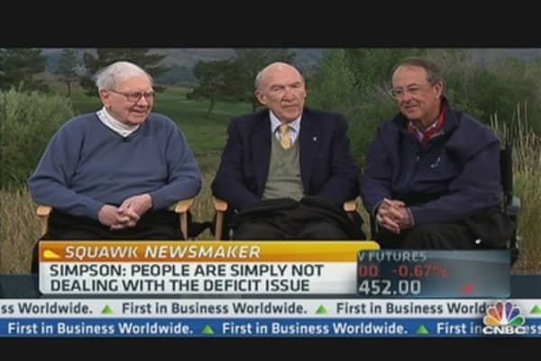 Buffett, Simpson & Bowles on Debt Reduction