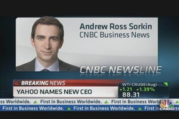 Yahoo Names Marissa Mayer New CEO