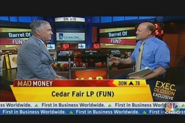 Cedar Fair CEO: 'Staycation' Here to Stay