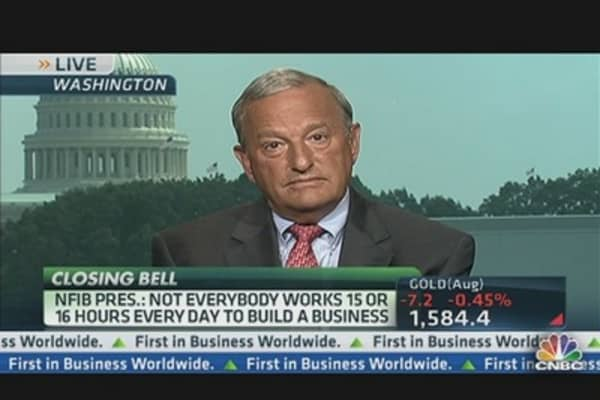 NFIB CEO: Govt. Making It More Difficult to Start a Business