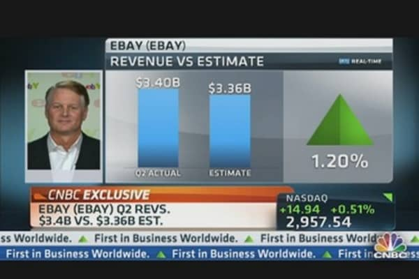 eBay CEO on Mobile Play