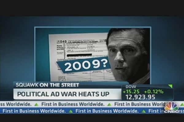 Political Ads Flood Battlegrounds