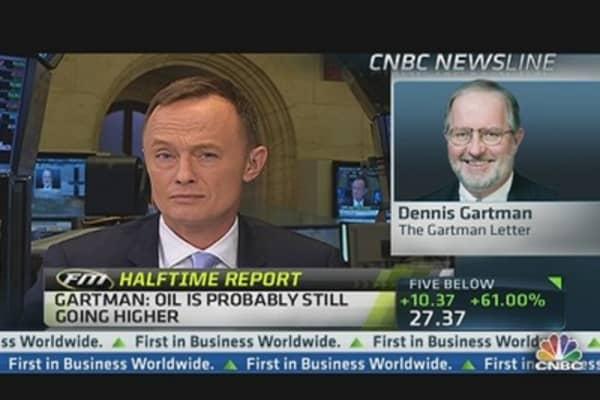 Gartman: $200 Oil 'Laughable' Even if Iran Blocks Gulf