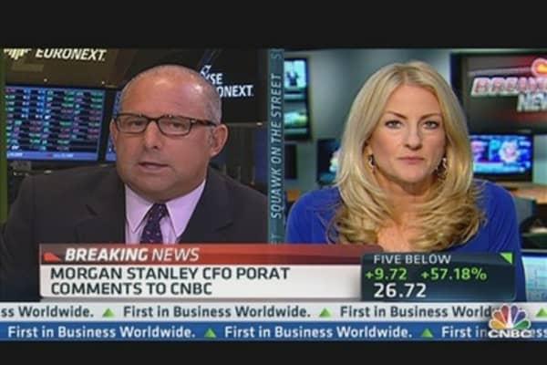 Morgan Stanley CFO: No Negative Impact From Facebook IPO