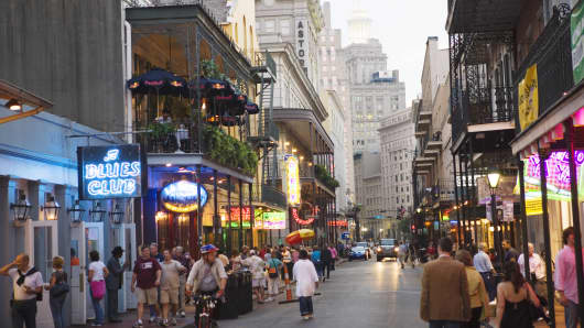 Bourbon Street, New Orleans, Louisiana