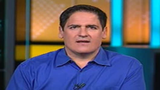 Mark Cuban on CNBC's Squawk Box.
