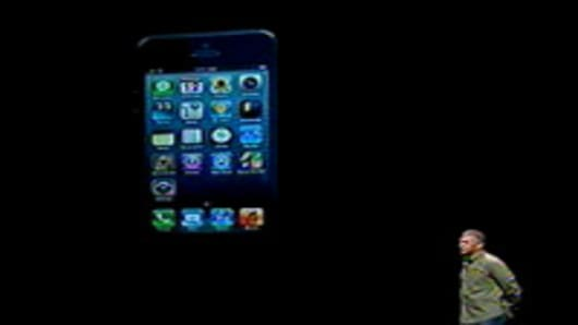 Apple introduces the iPhone 5.