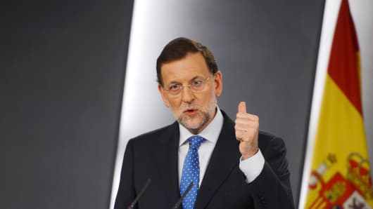 Prime Minister of Spain, Mariano Rajoy.