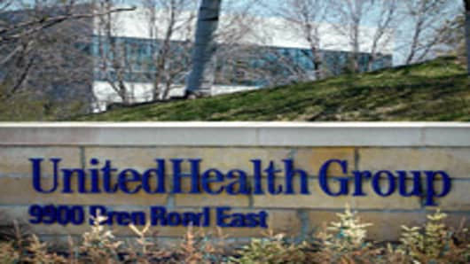 The headquarters of United Health Group Inc., in Minnetonka, Minnesota.
