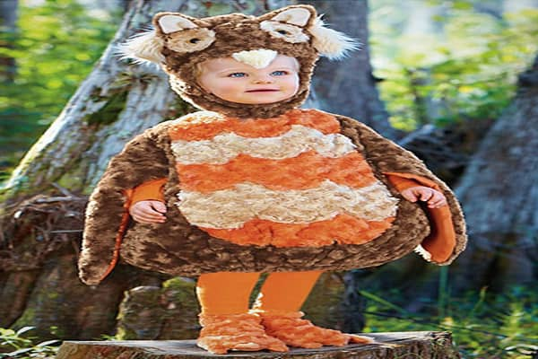 Suggested Price: $34Give a hoot, this baby is cute. Forget the ill-fitting vinyl costumes. These days, the selection of adorable baby and toddler costumes seems endless, so it will likely be a tough call when it comes time to select a costume for Halloween.