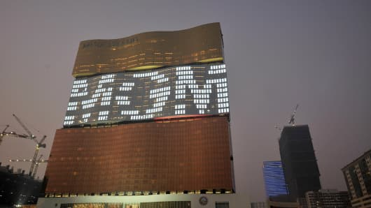 MGM Grand Casino in Macau.