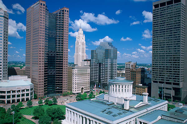 Columbus, OhioRIAs in 2011: 5AUM in 2011: $294.0 millionRIAs in 2010: 1AUM in 2010: $91.0 millionColumbus is the state capital and largest city in Ohio. A number of Fortune 500 companies (Limited Brands) are based in Columbus, as are units of foreign companies such as Siemens. Columbus suffered from the Great Recession less than other major cities, and as a result has relatively low jobless rate of 5.9 percent (August).