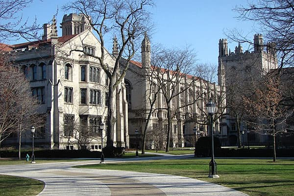 Total Cost: $57,711Tuition: $43,581Room & Board: $13,137Fees: $993Founded in 1890 with the help of a large donation from John D. Rockefeller, University of Chicago has produced Nobel Laureates, Fields Medalists and Rhodes Scholars at an impressive rate, and its nicely funded: in 2010 it received a  gift to its endowment fund, the 12th-largest such contribution for any school that year.Attending such a prestigious university doesn't come cheap: the total cost to attend is $57,711 for the 2012-2013 academic year. According to its  the school has a financial aid budget of $93.8 million for this academic year, and the average scholarship is $37,500.