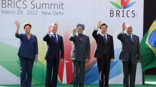 BRICS 2012 Summit  in New Delhi, India