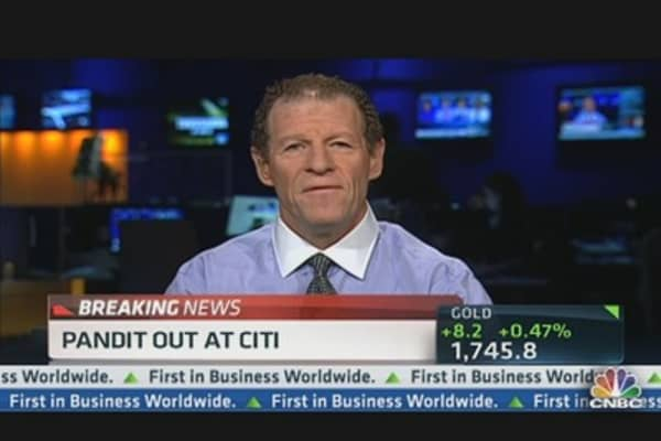 Why I'm Buying Citi After Pandit Exit: Weiss