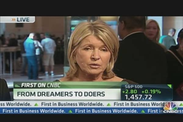 Martha Stewart: From Dreamers to Doers