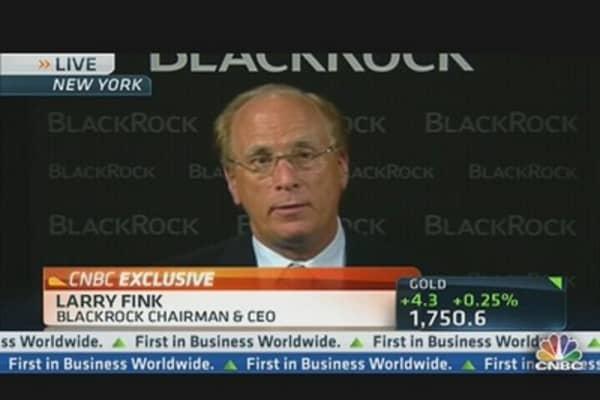 Larry Fink: I Am Very Bullish on US Banks