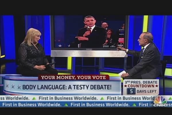 Dissecting Candidates' Body Language in Debate 2