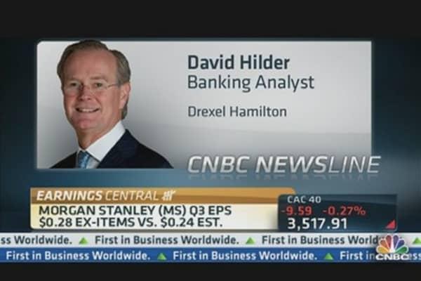 Zeroing in on Morgan Stanley's Earnings Beat