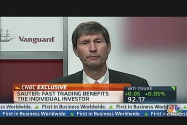 Vanguard CIO: High-Frequency Trading Cuts Costs