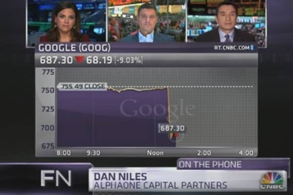 Dan Niles: Sell Google on Earnings Miss