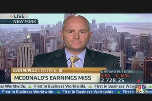McDonald's Earnings Miss