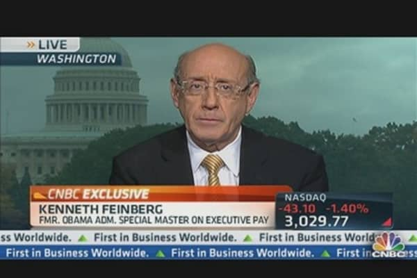 Pay Czar Feinberg on Pandit's Pay